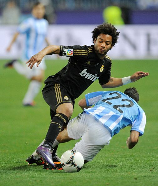 MARCELO---Real Madrid  during Malaga--Real Madrid,Copa del Rey