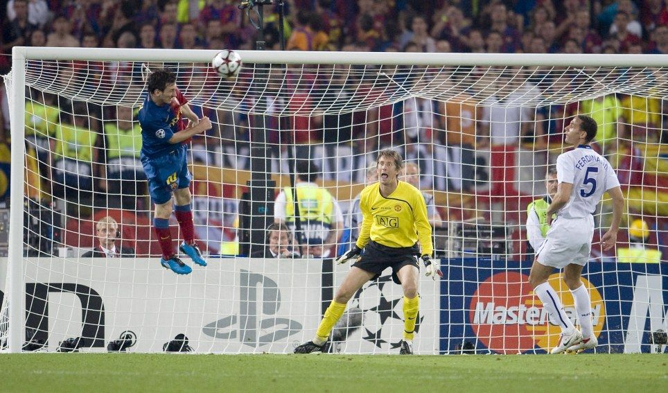 Image result for messi ucl goal mu