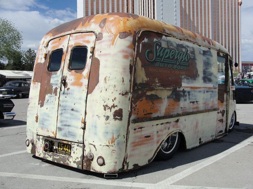 Vans Rat Rod Hot Rod Delivery The Underground Hot