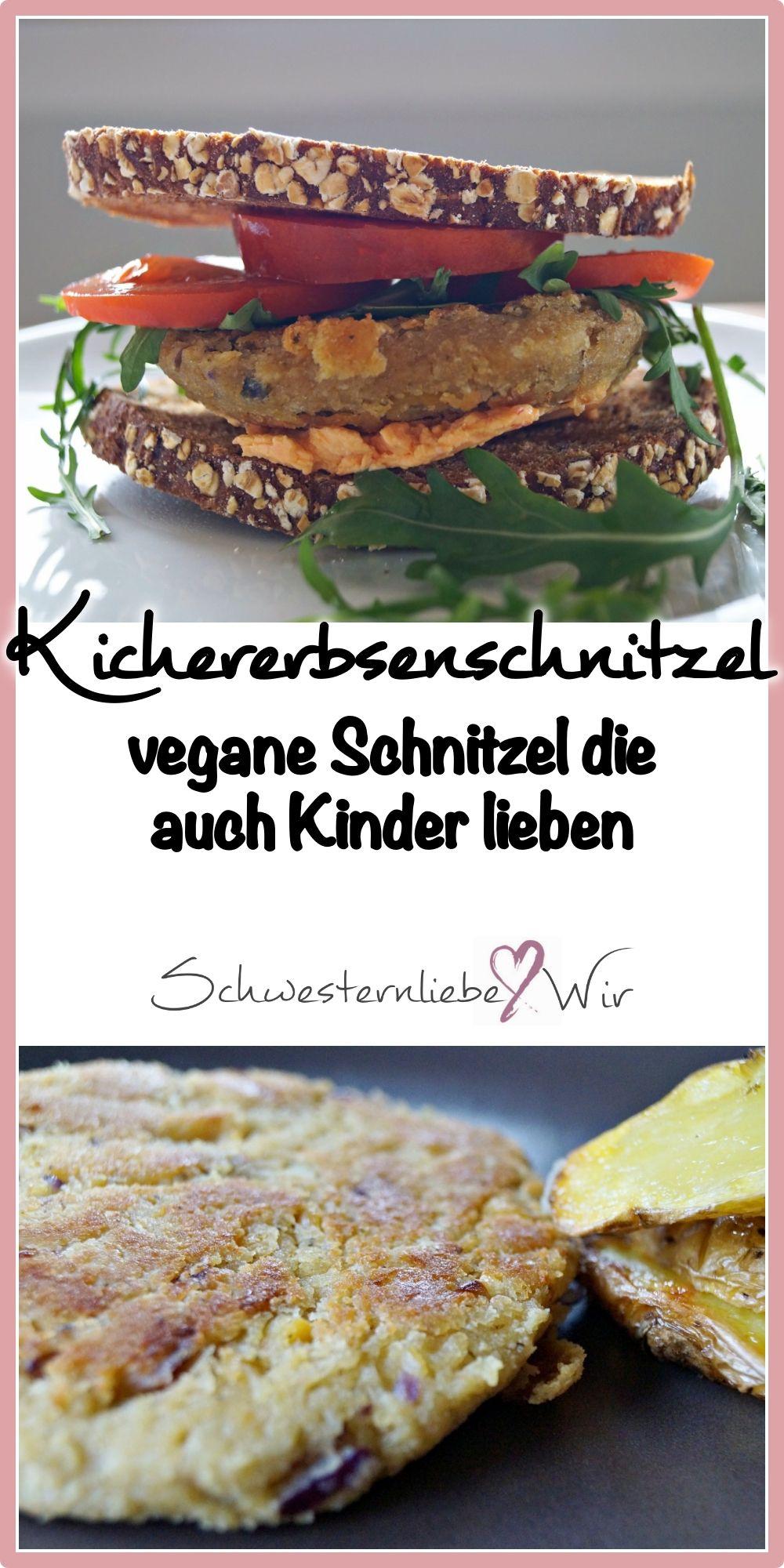 Kichererbsenschnitzel