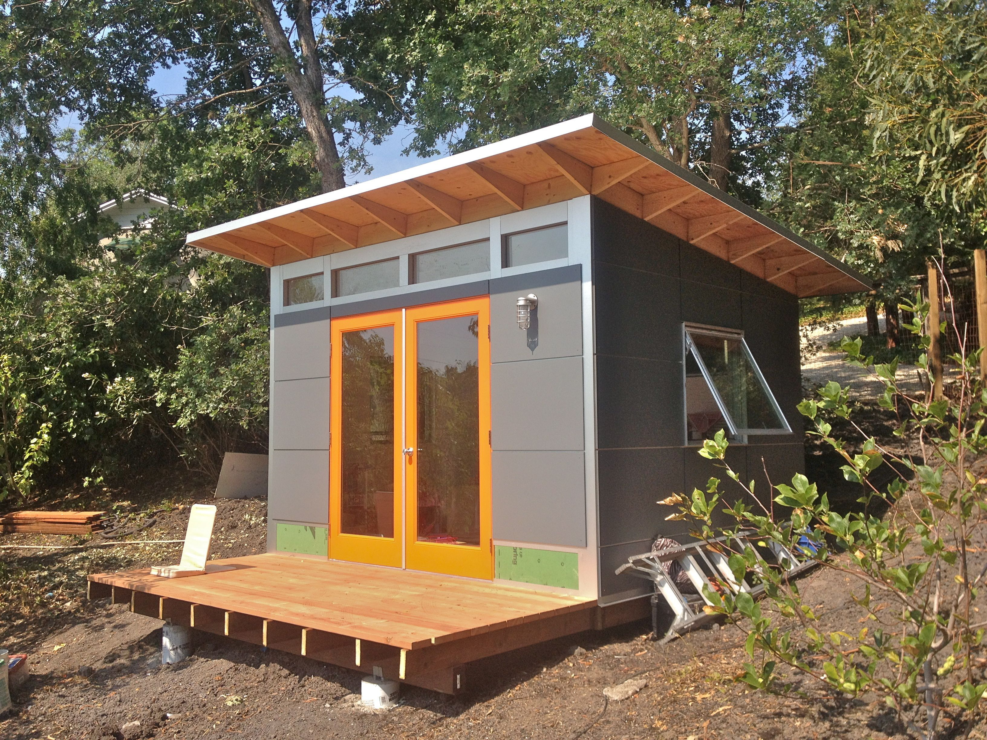 backyard office prefab. design and build your own studio shed with our configurator tool modern prefab sheds are perfect for backyard or custom home office
