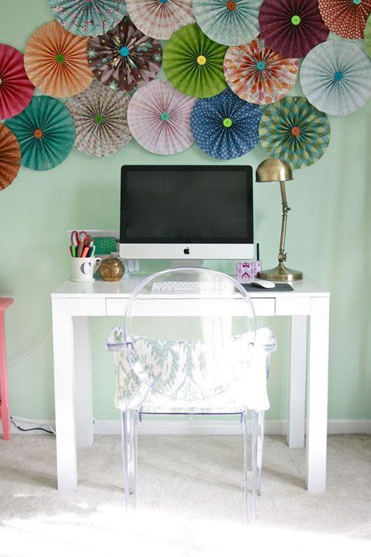 Parede decorada home office Antes E Depois | - Página 4