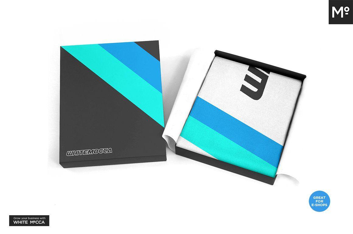 Download Sport Fan Scarf Mock Up In 2020 Corporate Brochure Cover Mockup Mocking