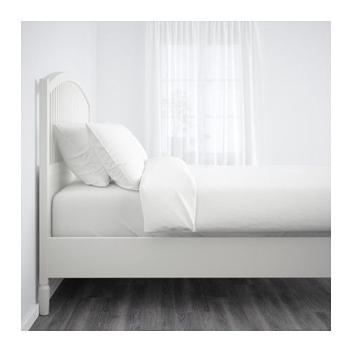 Tyssedal Bed Frame Queen Luroy Slatted Bed Base Ikea Your