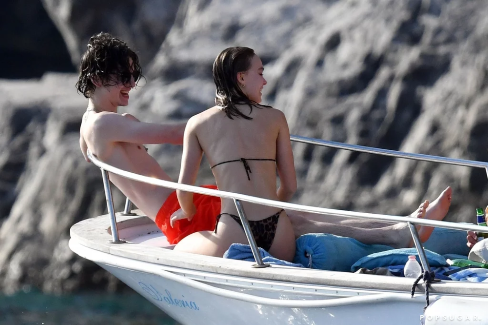 Whew Timothee Chalamet And Lily Rose Depp Get Hot And Heavy In Italy In 2020 Lily Rose Depp Lily Rose Timothee Chalamet