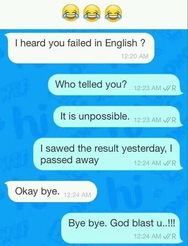 Pin By Nandini Roy On Memes Funny English Jokes Funny School Jokes Really Funny Memes