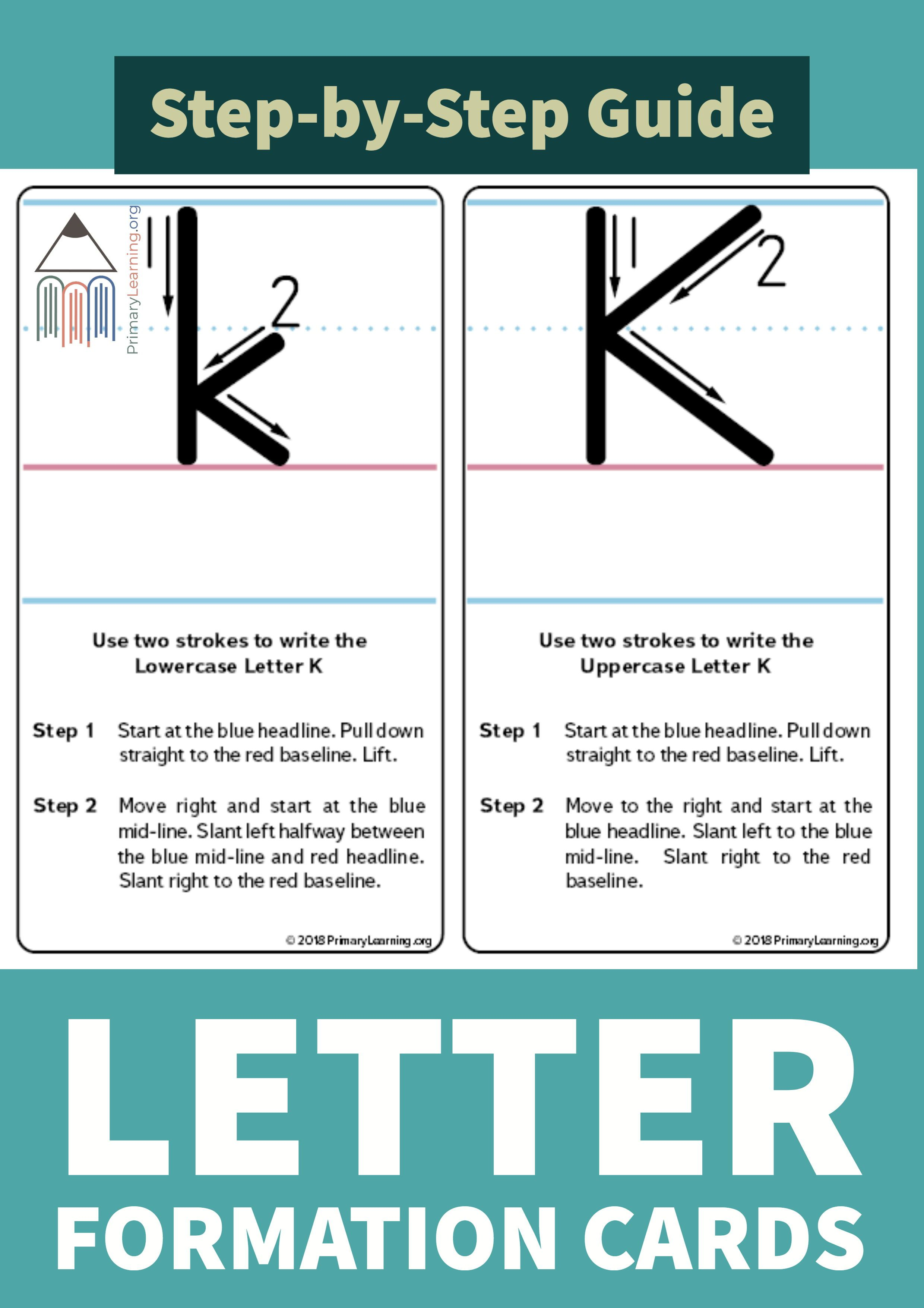 How To Write The Letter K