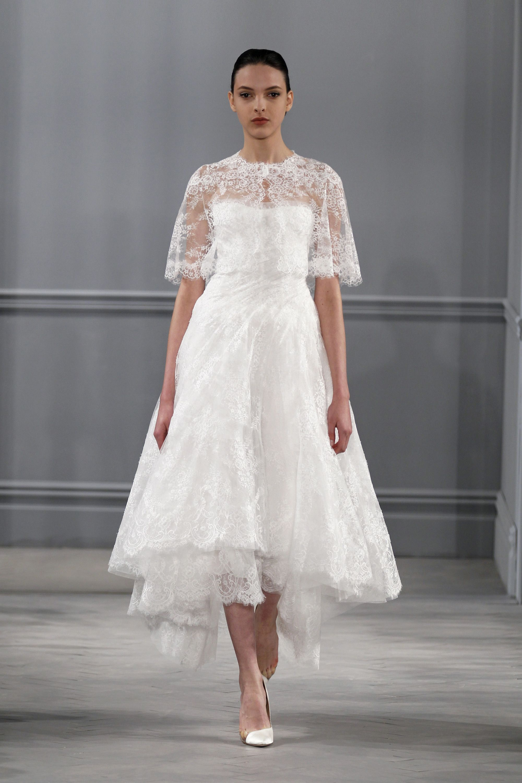 Top Ten Wedding Dress Trends For 2014 Tea Length Wedding Dress Short Wedding Dress Monique Lhuillier Wedding Dress [ 3000 x 2000 Pixel ]