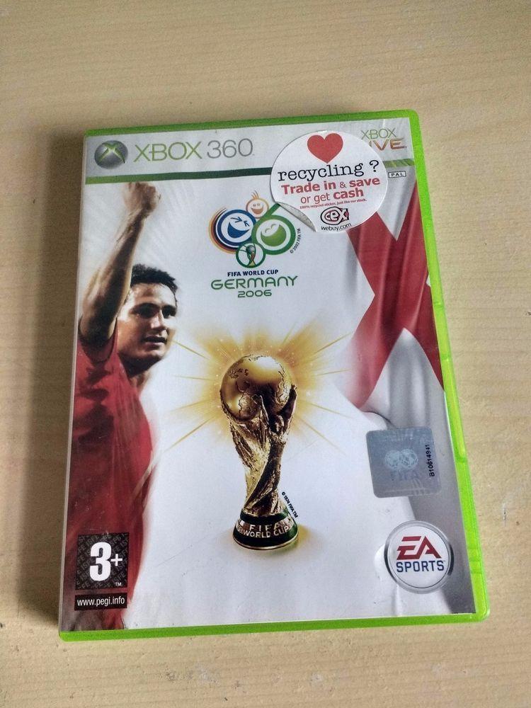 Fifa World Cup Germany 2006 Microsoft Xbox 360 2006 503094204977 Ebay Xbox Fifa Fifa World Cup