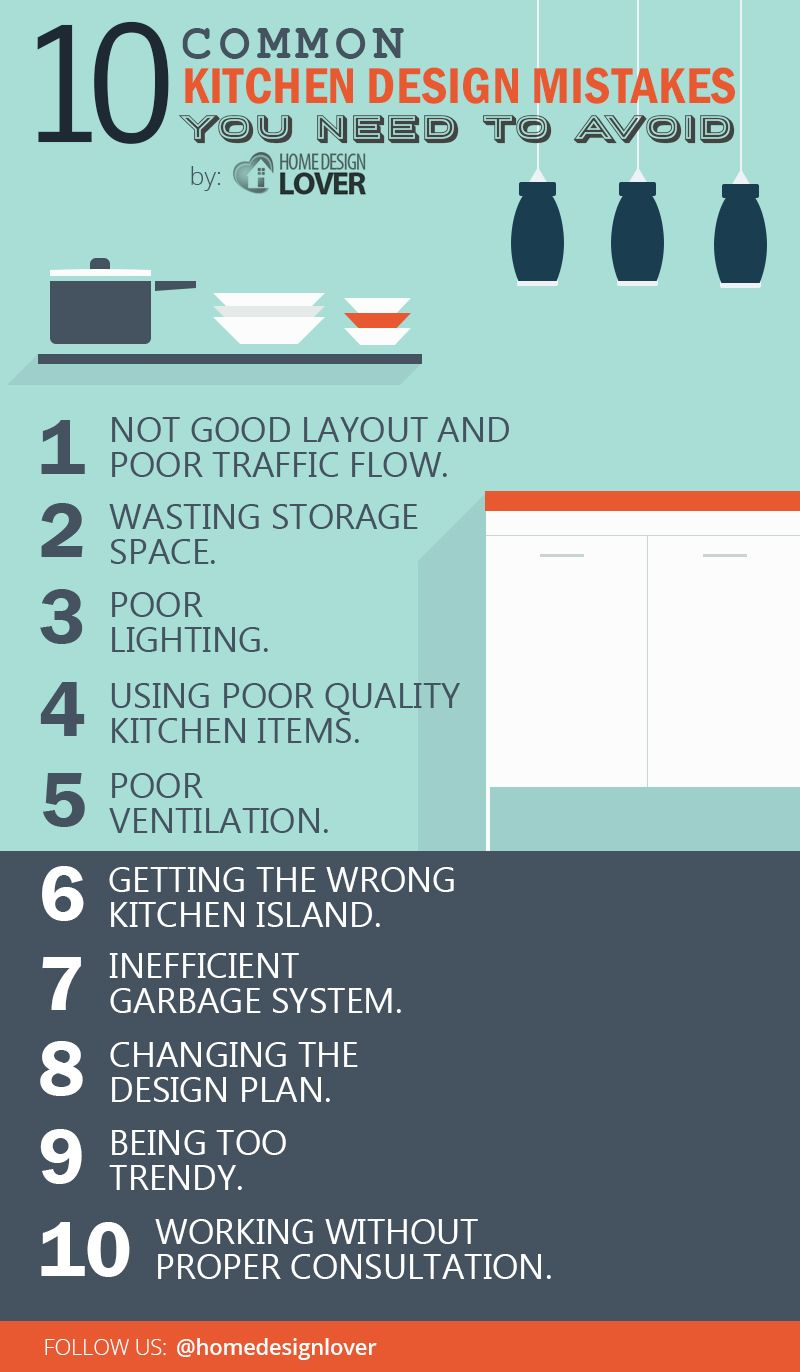 10 common kitchen design mistakes you need to avoid home design lover - Common Kitchen Designs