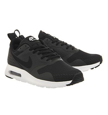 new style aee9a 090e8 netherlands nike air max tavas black white essential his trainers 513d9  6937b