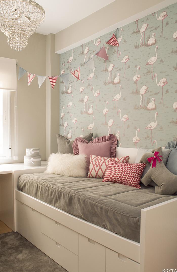 El antes y despu s de un cuarto infantil blog for Decoration murale 3d