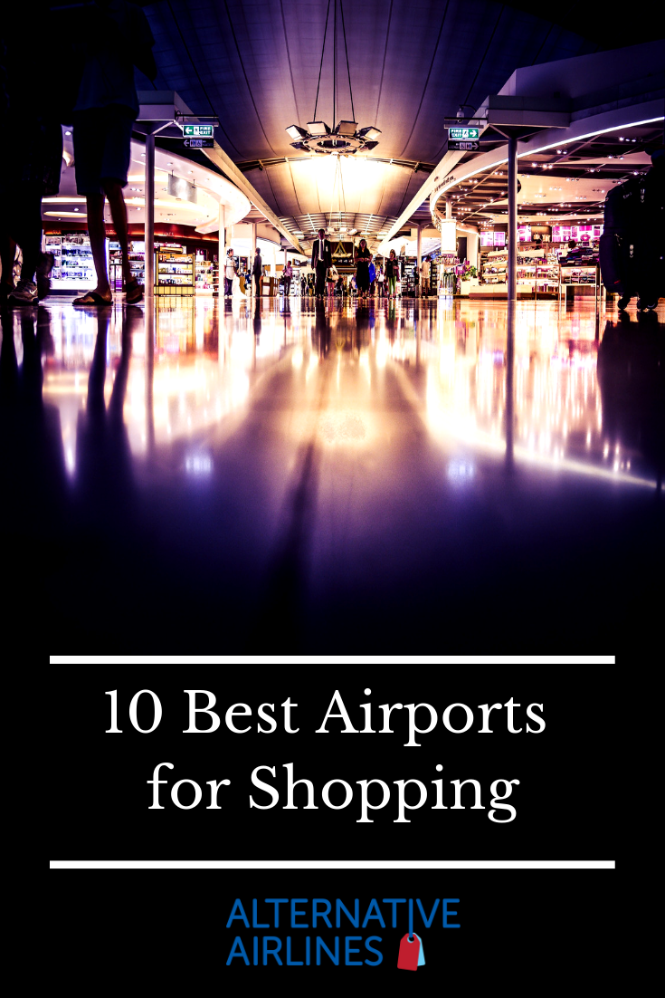 Read about the 10 best airports across the world for airport shopping and duty free, including Singapore's Changi Aiport and London's Heathrow Airport. #AirportShopping #DutyFree #AiportDutyFree