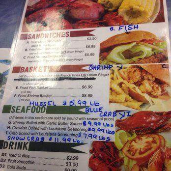 Cajun Deli Brooklyn Park Mn Simple Menu Fish Sandwich Deli