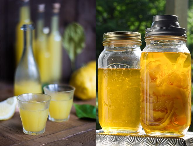 Limoncello - Italienischer Zitronenlikör | Alkoholische Getränke ...