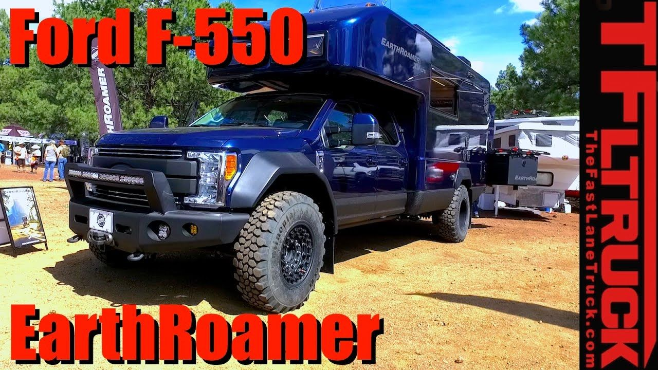 2017 earthroamer xv lts ford f 550 the ultimate 500 000 off road