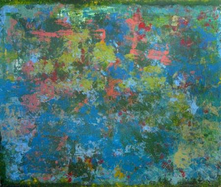 Winston Branch painting - Dancing in the Silent Blue