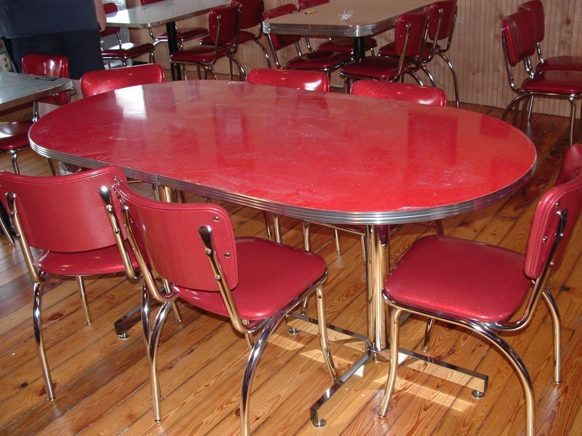 1950 Retro Kitchen Table Best 1950s Kitchen Table Set Home