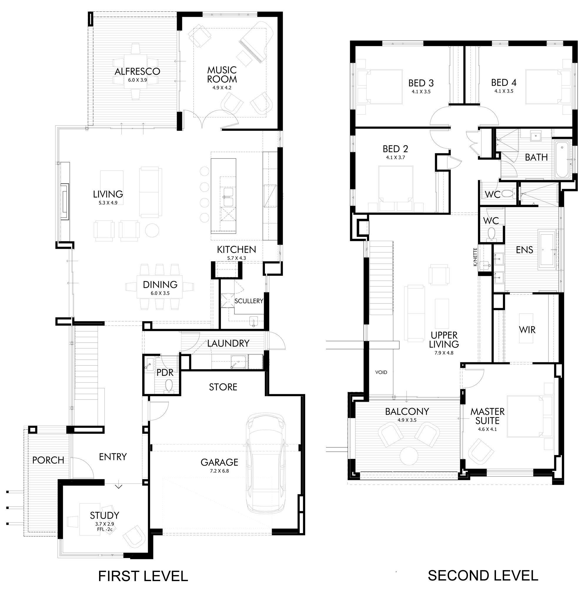 The Stunning Medallion House In Perth House Floor Plans House Design Design