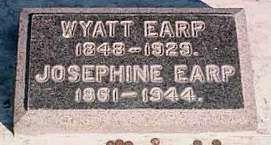 Wyatt Earp's Headstone