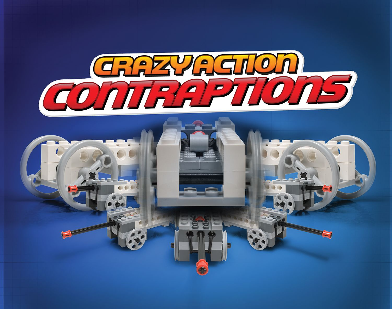Lego Crazy Action Contraptions From Klutz Available At Klutz Com Or A Toy Store Near You Toy Store Books For Boys Lego Kits