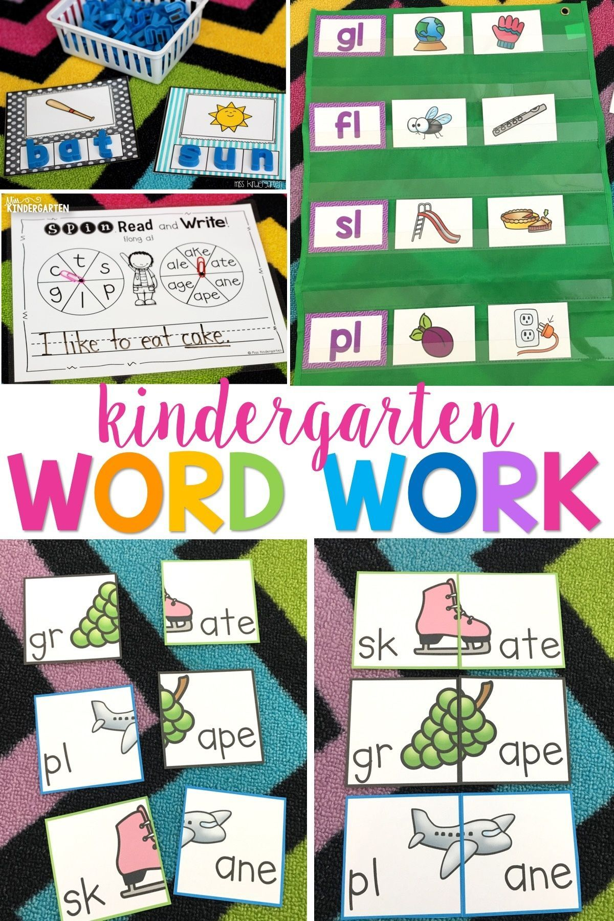 The Learning Never Ends With This Word Work Bundle It S