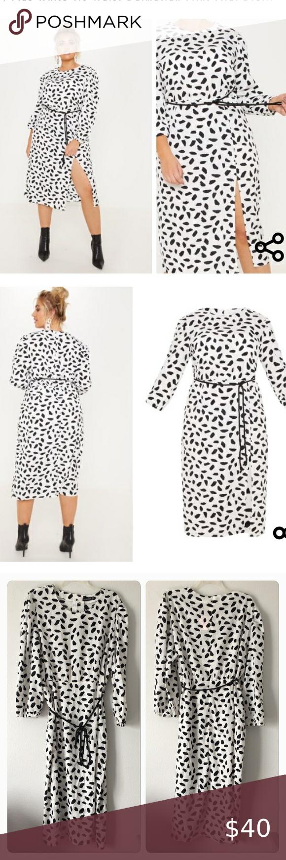 NWT Pretty Little Thing Dress Size 2X Pretty Little Thing