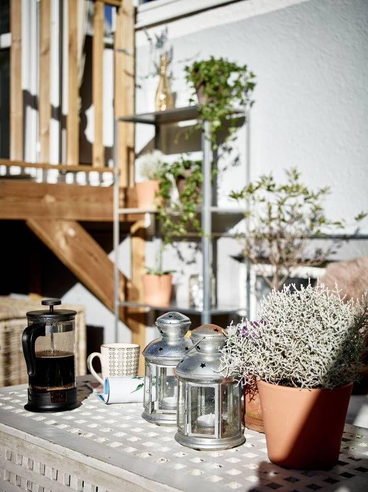 Un primero con terraza for the home scandinavian interiors pinterest terrazas - Blog decoracion de interiores ...