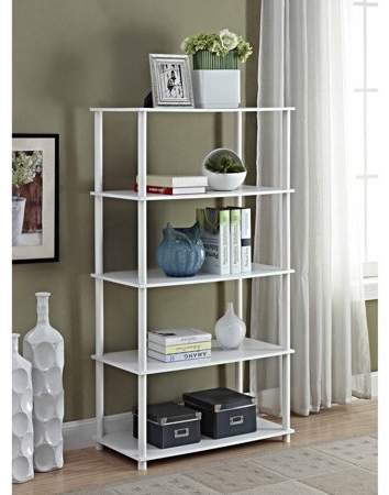 Mainstays No Tools Assembly 8 Cube Shelving Storage Unit Multiple