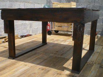 ma premire table de jardin en bois de palette boisrcuprationponagejeu - Table De Jardin En Bois De Palette