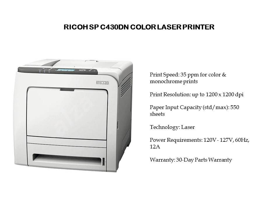 Ricoh Color Laser Printer For Small Businesses Laser Printer
