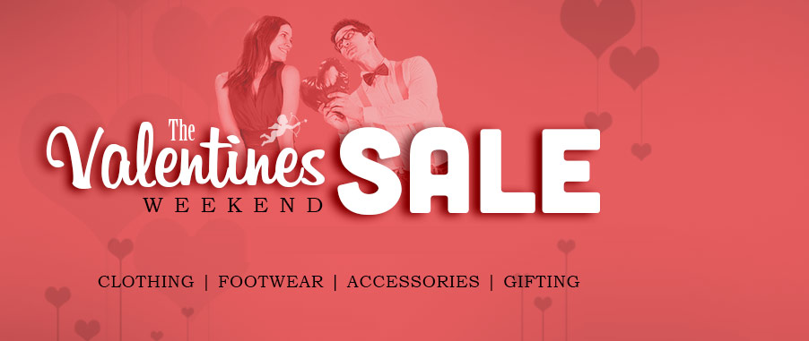 Here Valentine\'s Day 14 February Weekend Sale and Offers Available ...