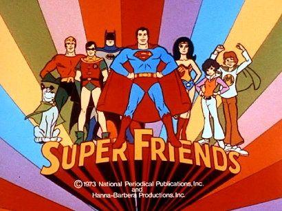 The Super Friends. 1973 TV Series