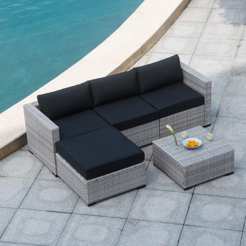 Download Wallpaper Sectional Sofa Patio Furniture Set