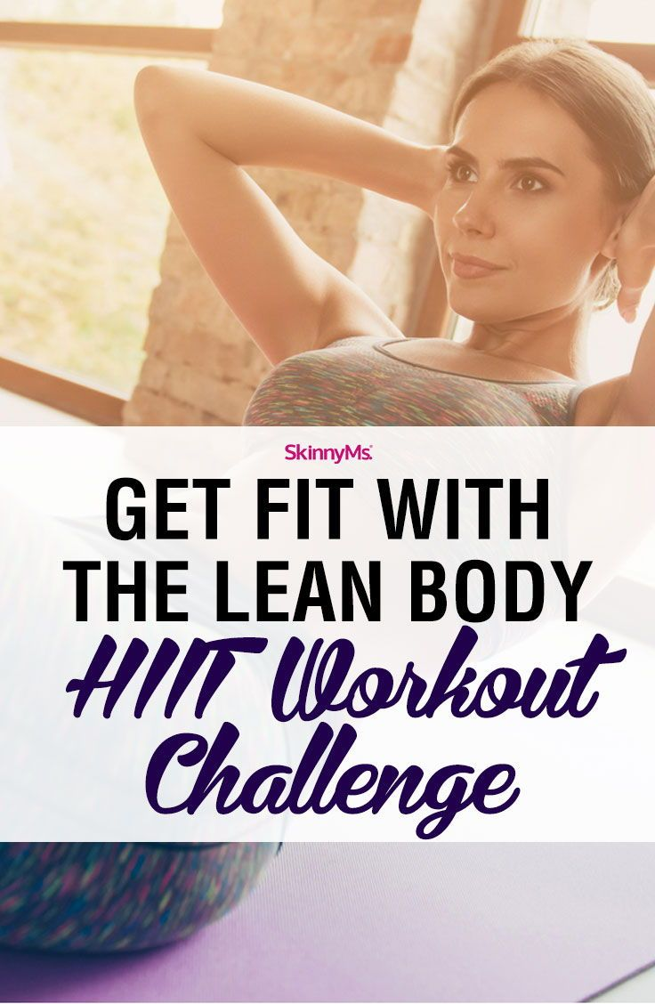 Lean Body HIIT Workout Challenge