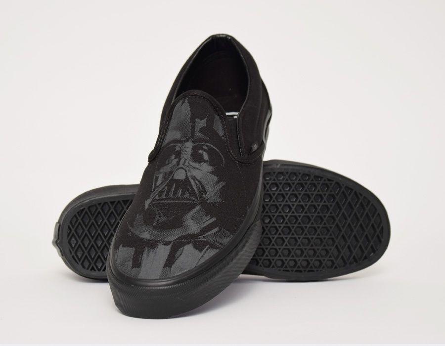 #Vans Slip-On Star Wars Dark Side Darth Storm #sneakers