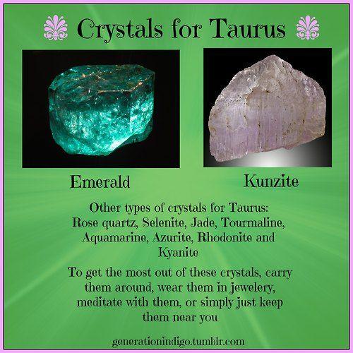 Crystals for Taurus #Astrology #Crystals #Taurus