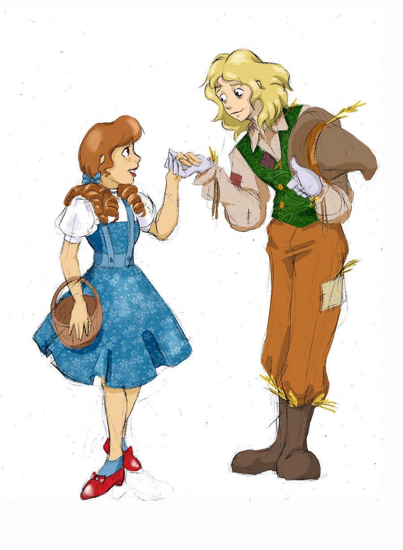 Oz Dorothy Scarecrow By Silviabrujas Deviantart Com On Deviantart