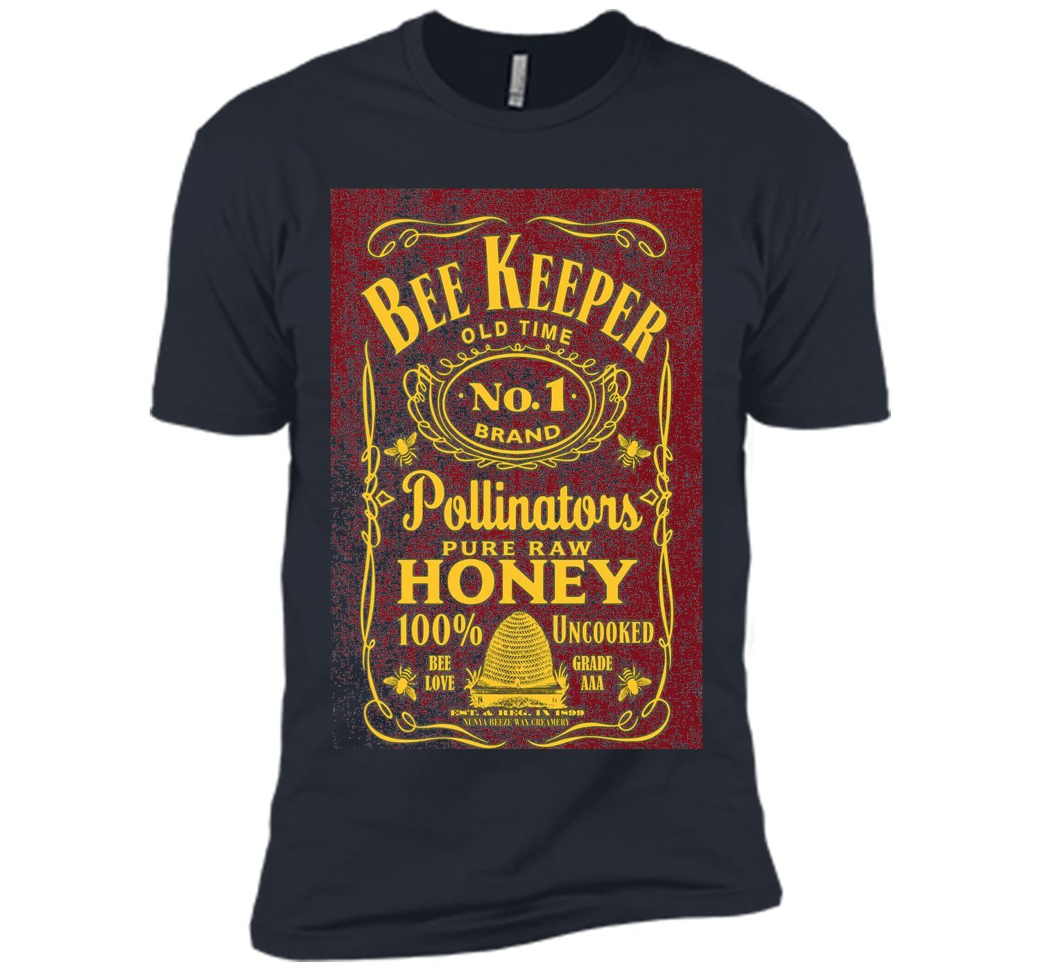 aaa0ef8c Beekeeper T-Shirt Beekeeping Shirt Old Time Honey cool shirt ...