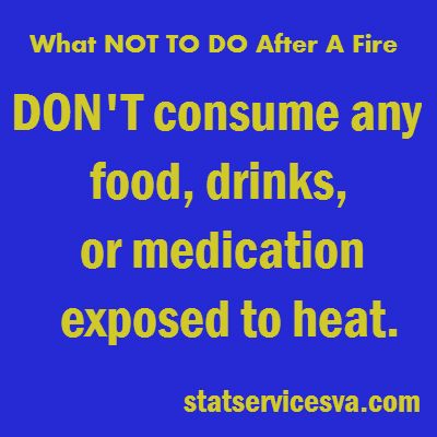 What to do after a fire! #whattodoafterafire #fire #housefire