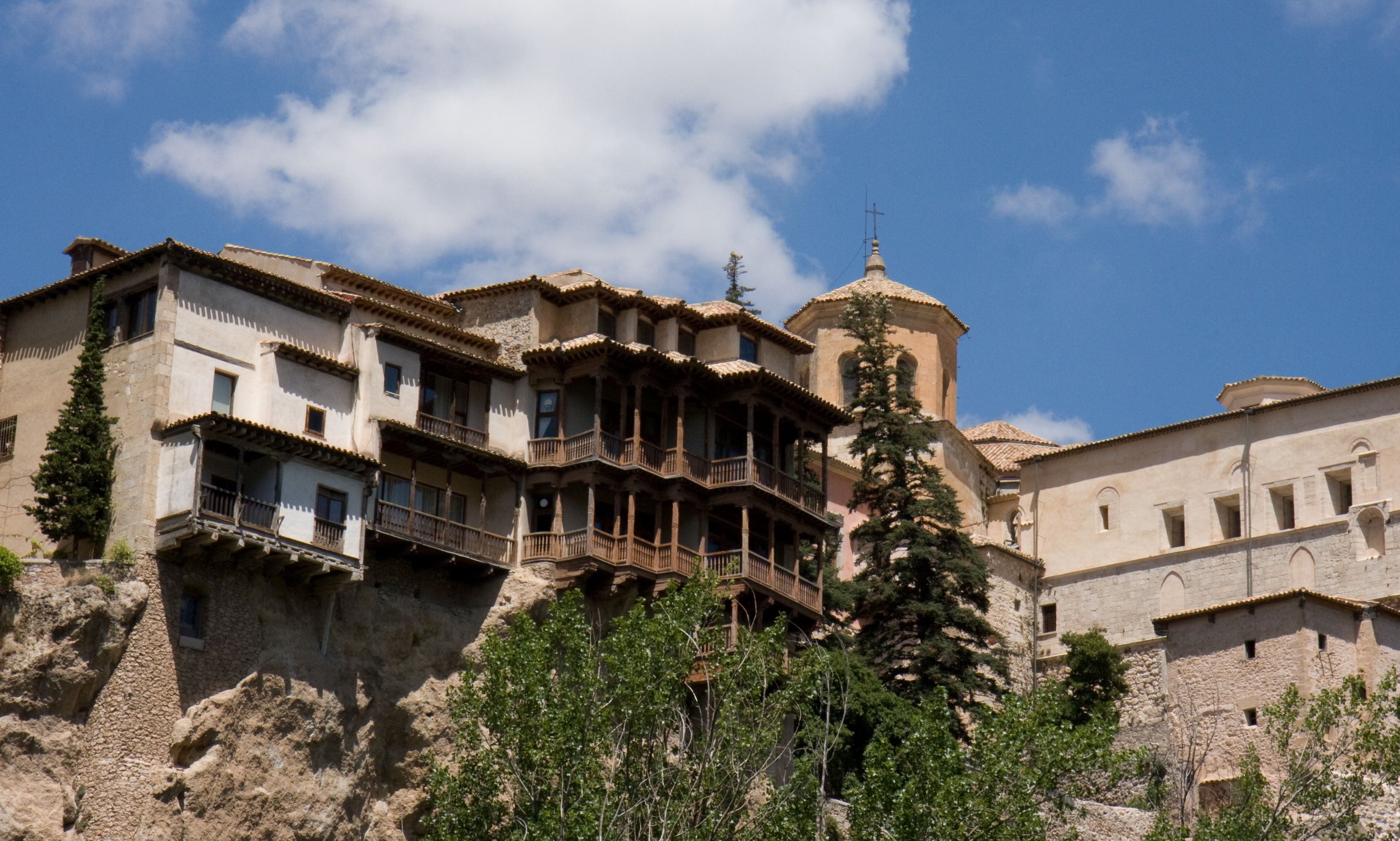 Houses in Spain | Description Cuenca, Spain - Hanging houses (Casas Colgadas).jpg