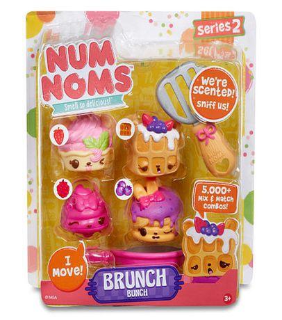 Num Noms Series 2 Scented Collectiable Figure - Brunch Bunch