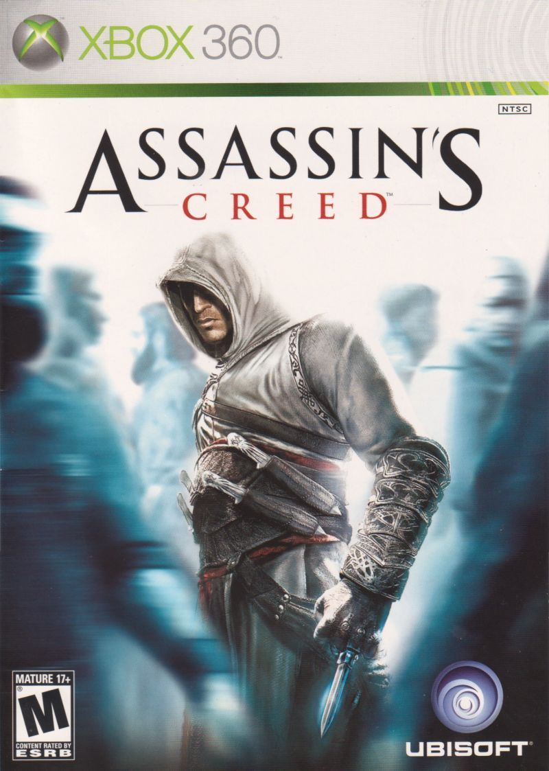 Assassin S Creed Xbox 360 Front Cover Assassins Creed Game