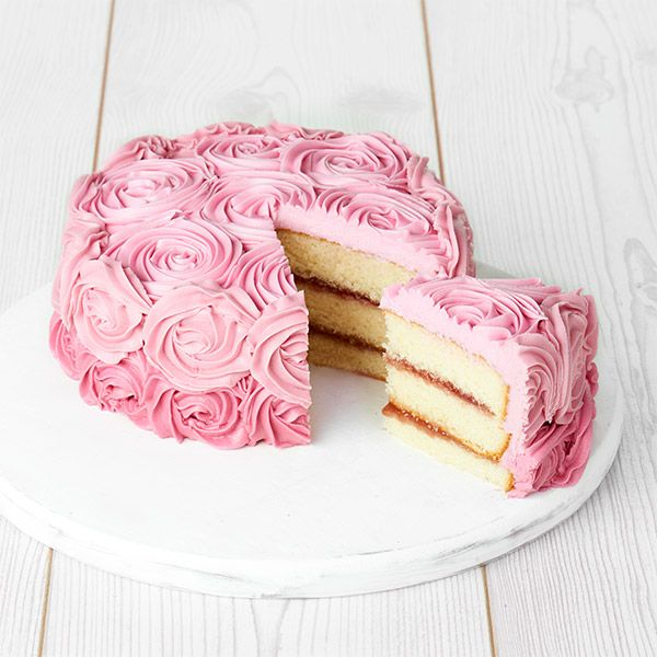 Image For Sainsburys Rose Bouquet Cake Serves 16 From