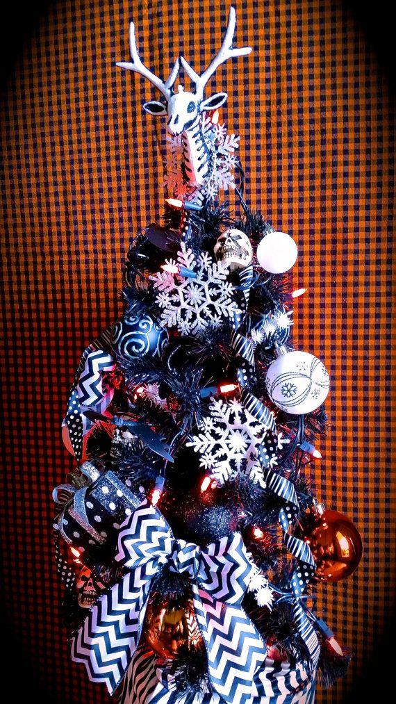 Nightmare Before Christmas Tree, Halloween Town Tree, Dia