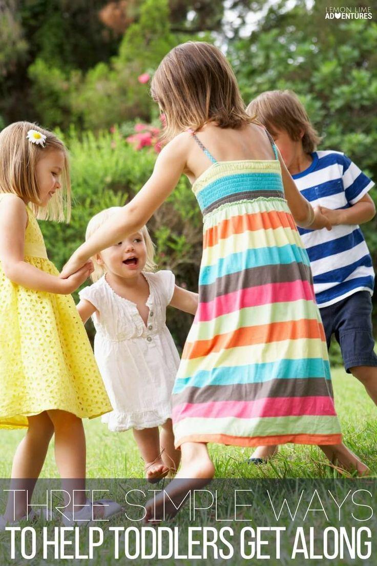 Three simple ways to help toddlers get along #ad via @lemonlimeadv
