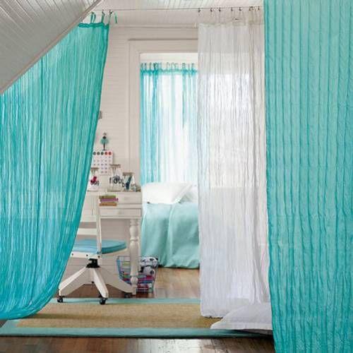 ideas y trucos para decorar la casa ligeras cortinas