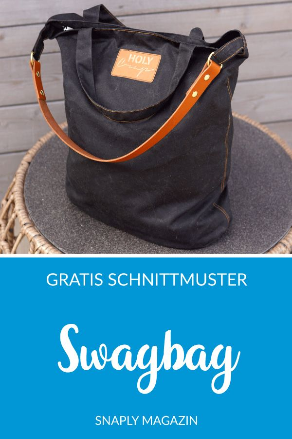 """Photo of Kostenloses Schnittmuster: """"Swagbag"""" 