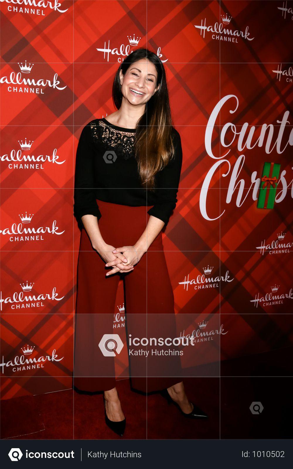 Usa Christmas At Holly Lodge Screening Los Angeles Photo Photo Stock Photos Gina Rodriguez