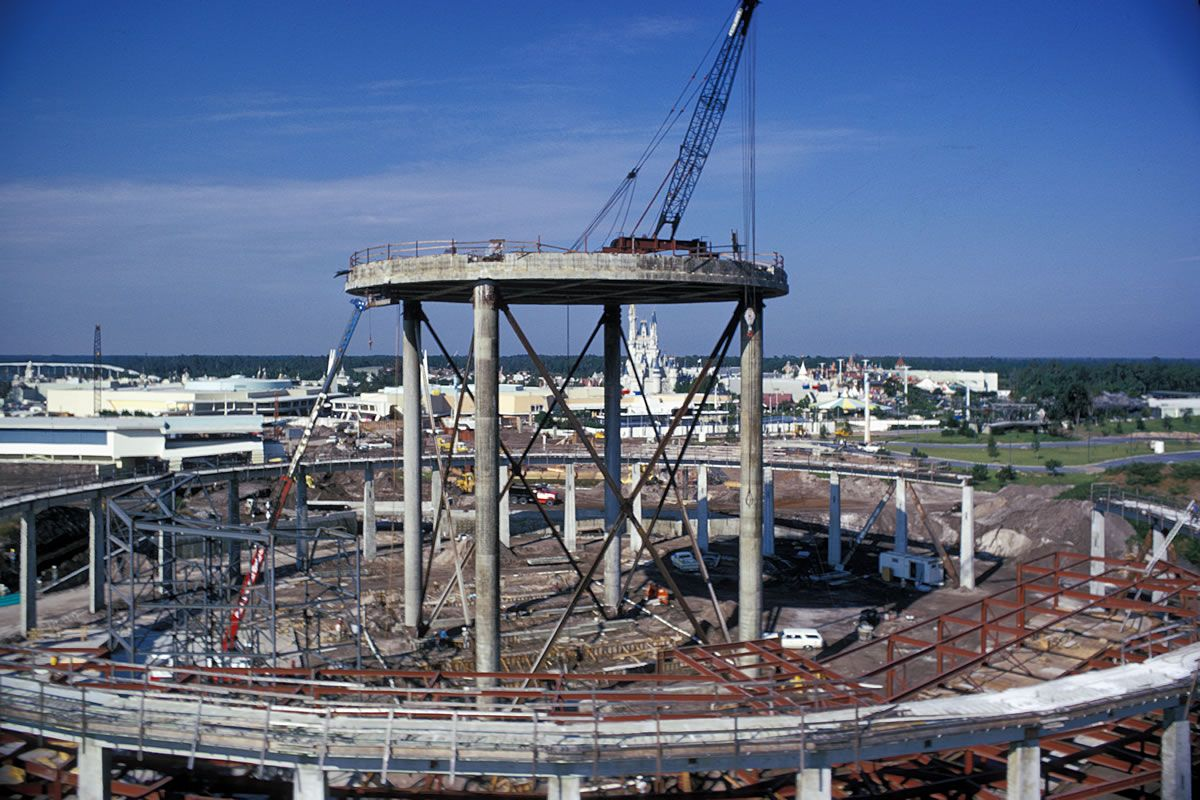 Space Mountain Opening - GREAT pics of building space mountain!  - It's a Disney World